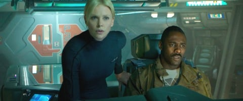 charlize theron and idris elba prometheus