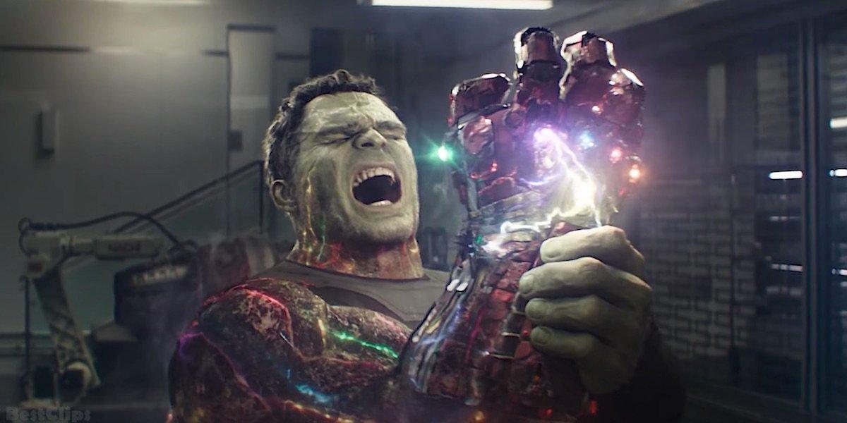Hulk channeling Infinity Stones power in Avengers: Endgame