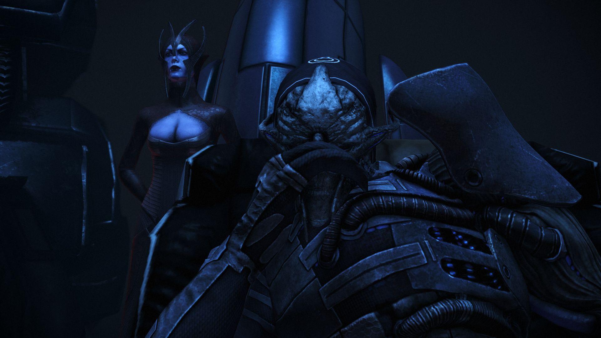 Saren, Mass Effect's villain