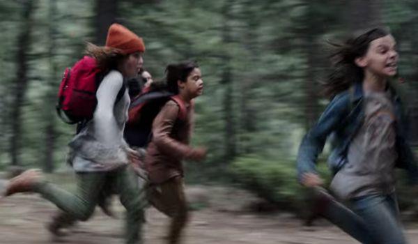 children running in Logan