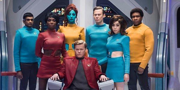 U.S.S Callister Crew Black Mirror Netflix
