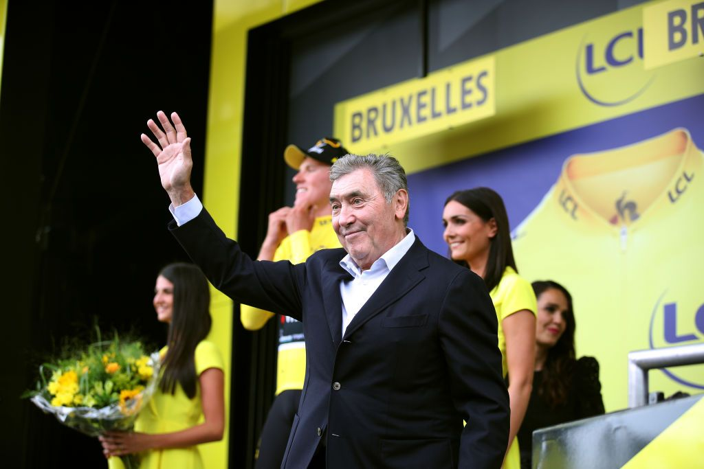 Eddy Merckx 'still not 100 per cent' following bike crash