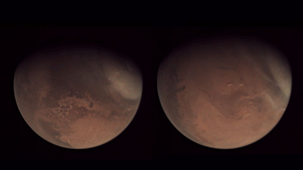 A new year begins on Mars as three space probes close in on the Red Planet