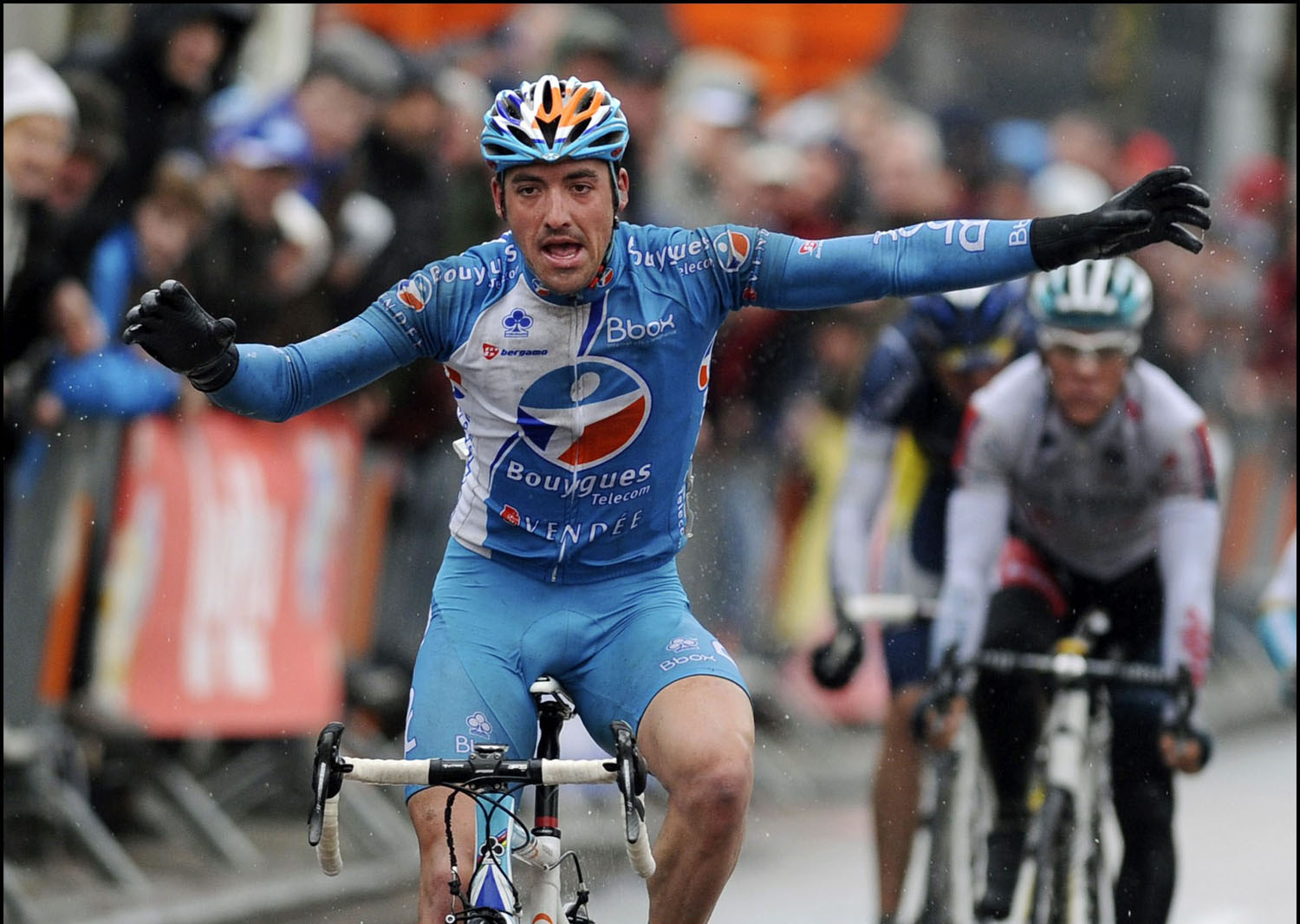 Sebastien Turgot wins, Three Days of De Panne 2010, stage 2