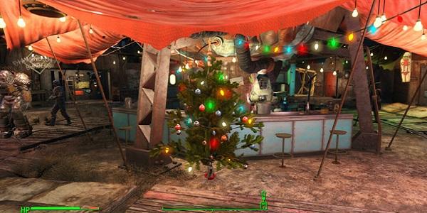 рождество в fallout 4