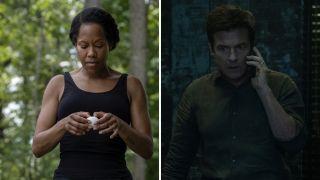 Regina King in Watchmen and Jason Bateman in Ozark
