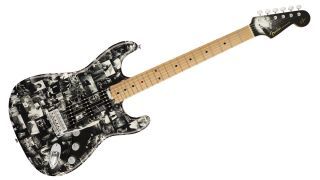 Fender Andy Summers Monochrome Strat