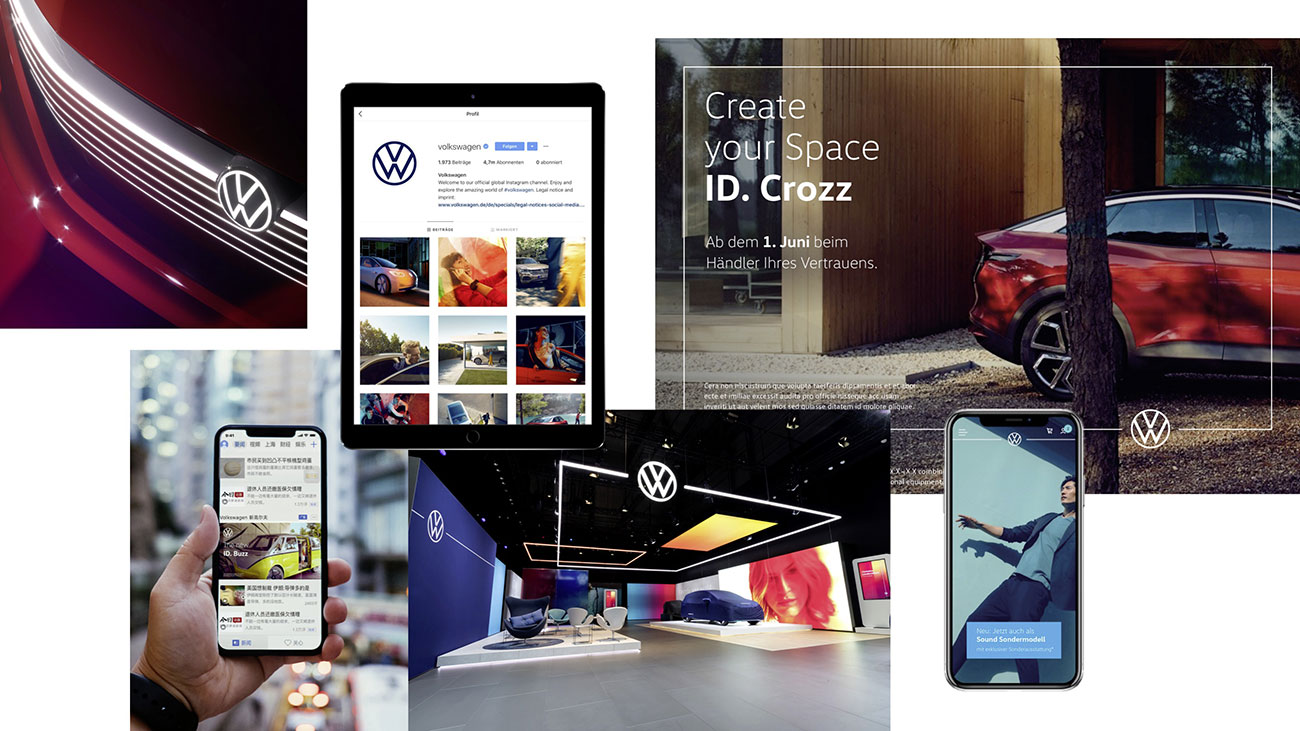 New Volkswagen logo breaks its own rules | Creative Bloq