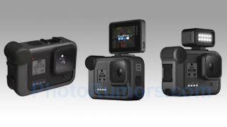 Leaked GoPro Hero8 has mount for external flip screen, 4K video at 120fps