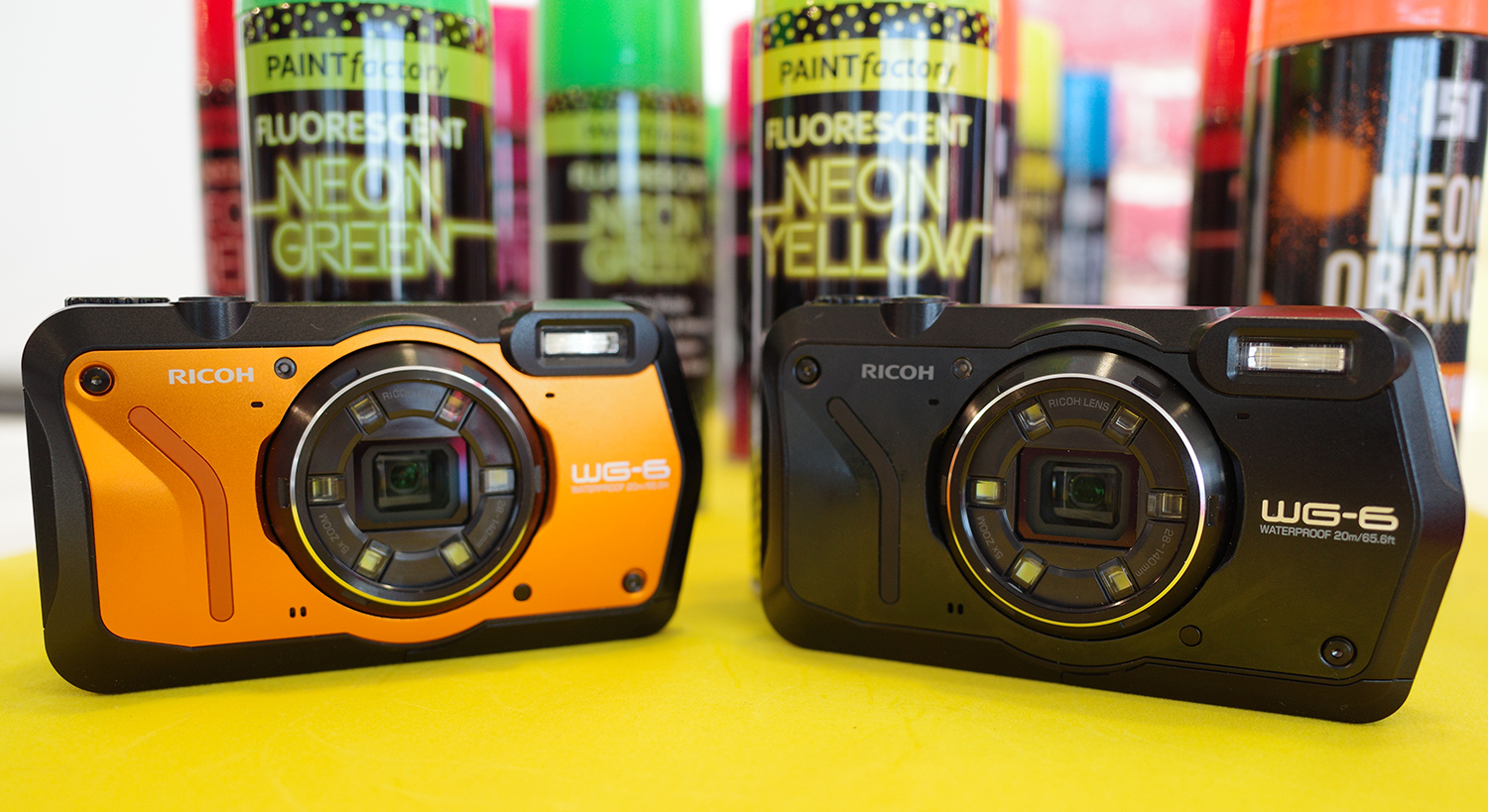Ricoh WG-6 boasts 20MP and 20m underwater shooting