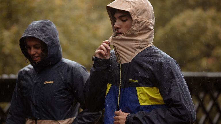 best waterproof jacket: Finisterre Stormbird