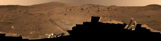 One Long Trip: NASA's Spirit Rover Hits 1,000th Martian Day