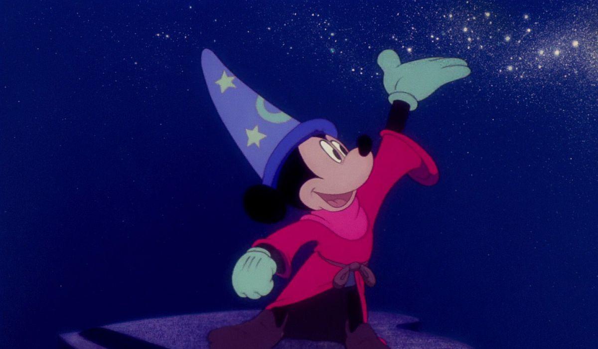 Sorcerer Mickey in Fantasia
