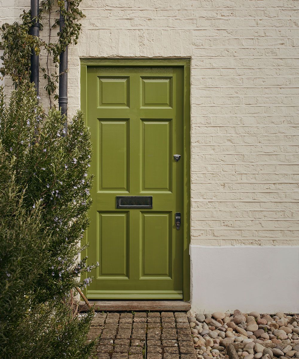 How to paint a front door, according to the colour experts at Farrow & Ball