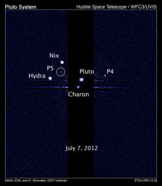 Moons Orbiting Pluto