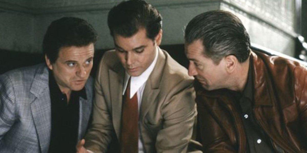 Joe Pesci, Ray Liotta, and Robert De Niro in Goodfellas