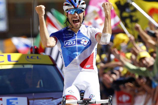 Thibaut Pinot wins stage twenty of the 2015 Tour de France