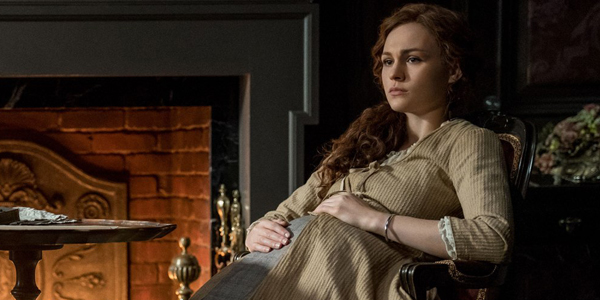 Bree Pregnant and alone on outlander