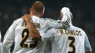 David Beckham Real Madrid