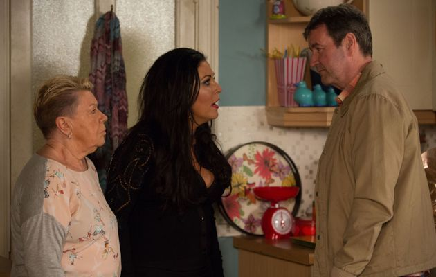 Eastenders Spoilers Kat And Mo Slater Confront Jeans Hubby Ollie
