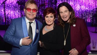 Elton, Sharon and Ozzy