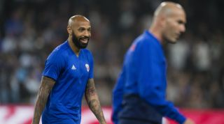 Thierry Henry, Zinedine Zidane