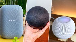 HomePod mini vs. Amazon Echo vs. Google Nest Audio