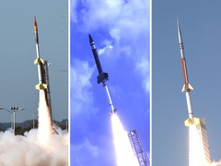 NASA will use three different types of sounding rocket for its ATREX mission.