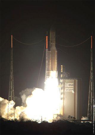 Ariane 5 Rocket Successfully Orbits Satellite Duo
