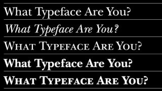 What's your typeface?