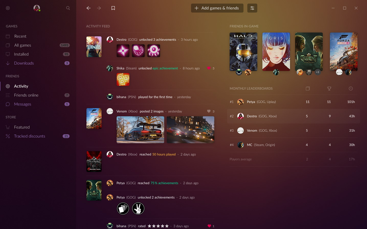 GOG Galaxy 2.0 aims to bring games from all PC and console platforms under one roof | PC Gamer