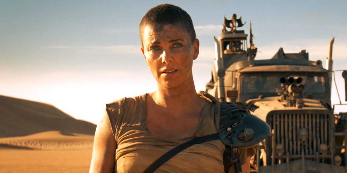 Charlize Theron Shares Badass Video Of The Time She Shaved Her Head For Mad Max: Fury Road