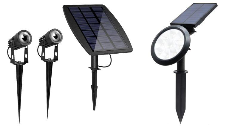 Atlas Solar Spotlights vs Chiron Solar Colour Spotlight