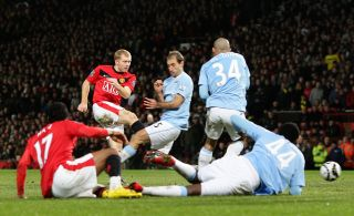 Soccer – Carling Cup – Semi Final – Second Leg – Manchester United v Manchester City – Old Trafford
