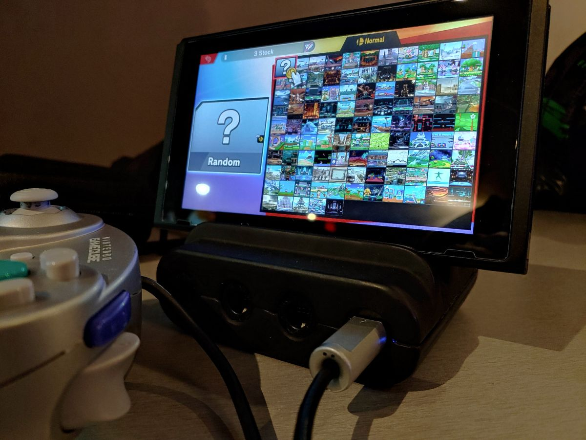 This GameCube Controller Adapter for Switch Is Almost Perfect