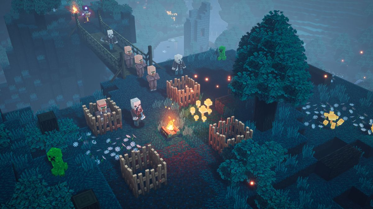 """Minecraft Dungeons review: """"A more approachable entry point for"""