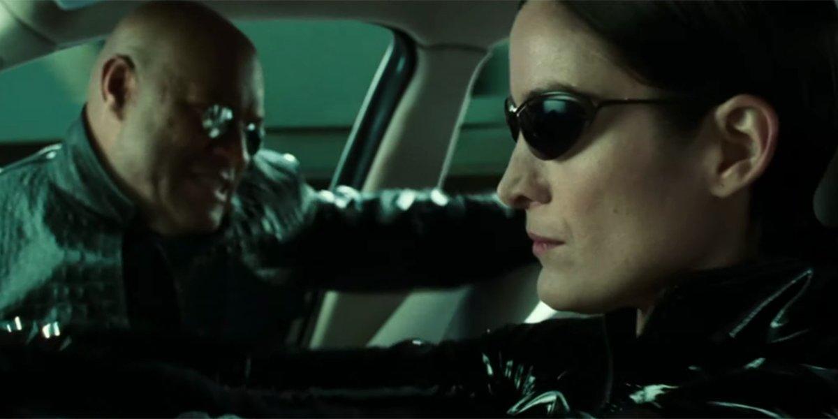 The Matrix 4 Set Videos Shows Epic Car Chase