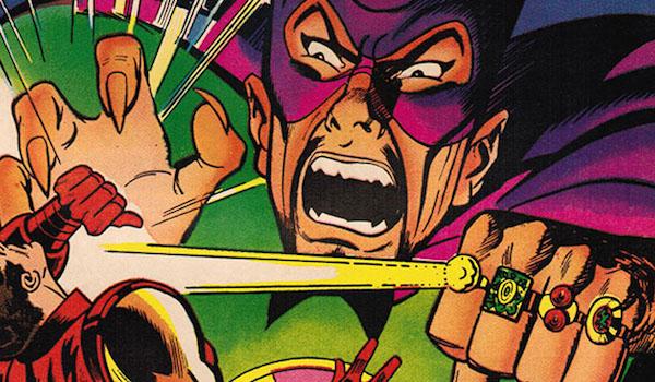 Mandarin fighting Iron Man in Marvel Comics