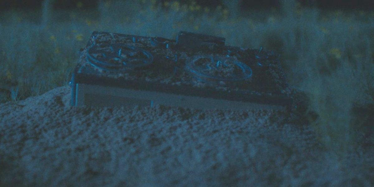 Everett's abandoned tape recorder in The Vast of Night