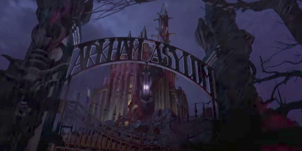 Arkham Asylum in Batman Forever