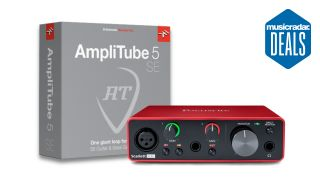 Get AmpliTube 5 SE completely free when you buy select audio interfaces at Thomann