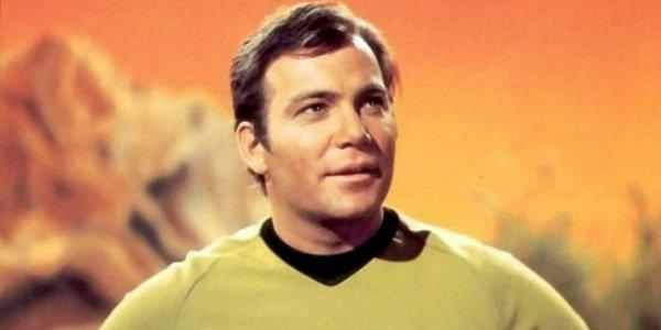 Captain Kirk William Shatner Star Trek CBS