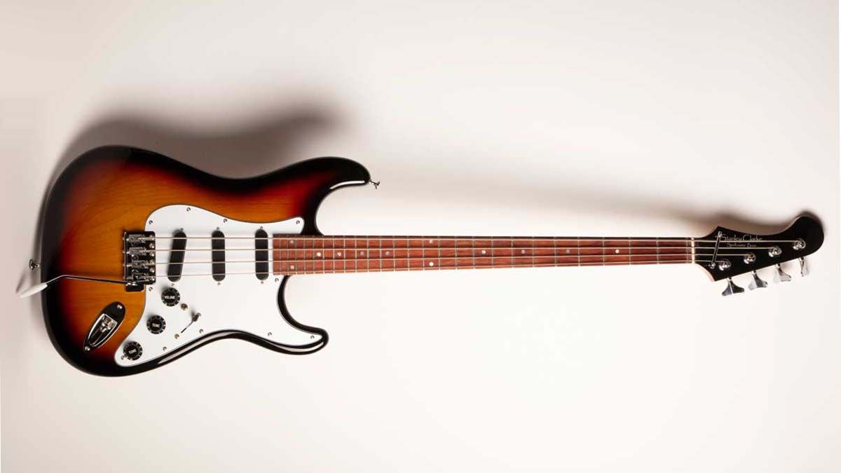Stanley Clarke unveils his Strat-inspired Spellcaster short-scale bass