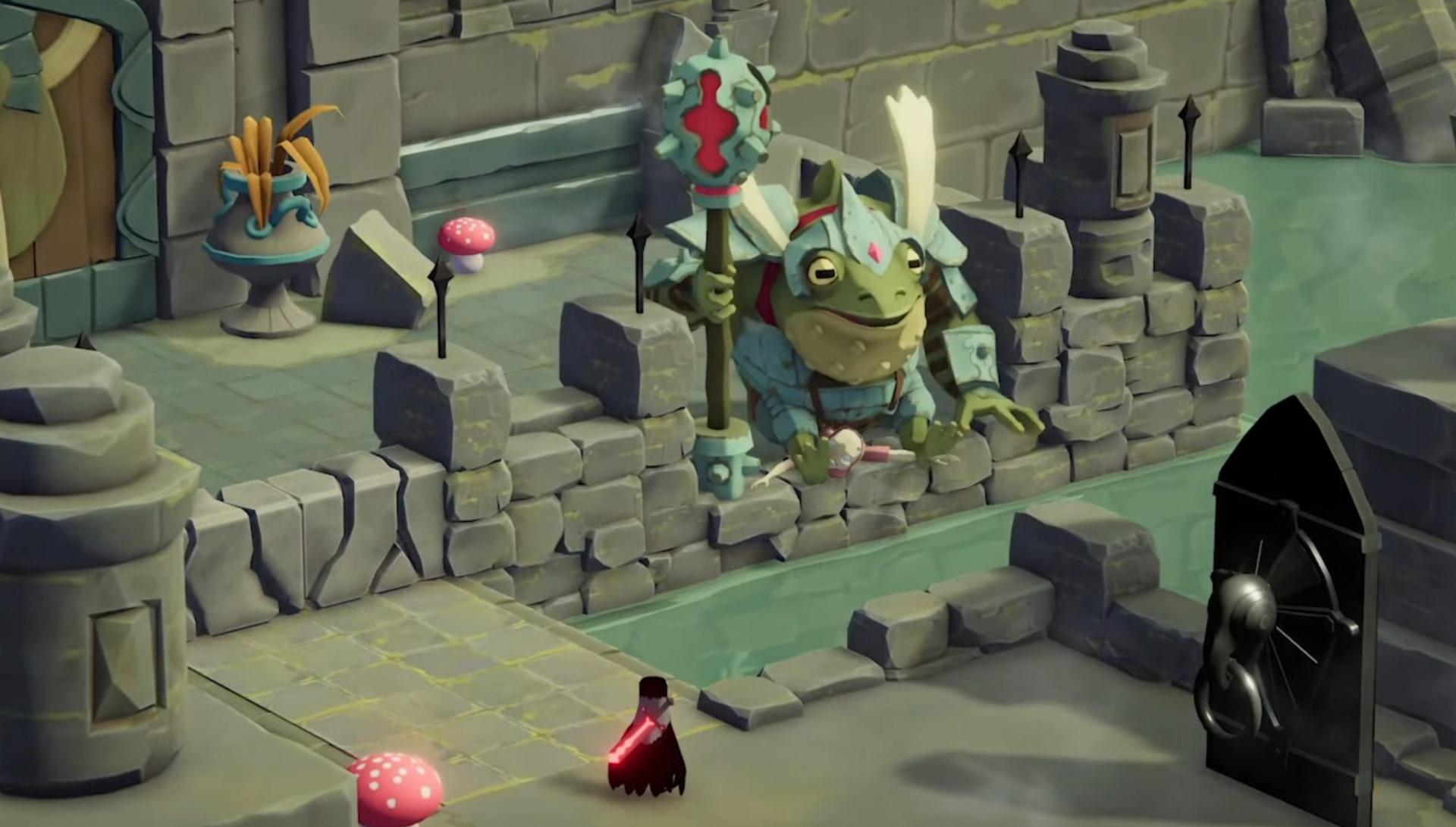 Death's Door gameplay video showcases 'tight 2D pixel-art action'