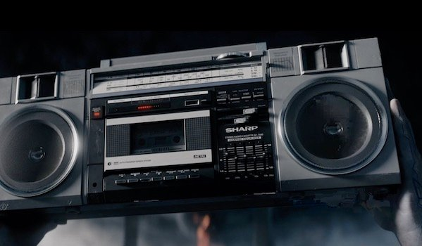 Say Anything boombox