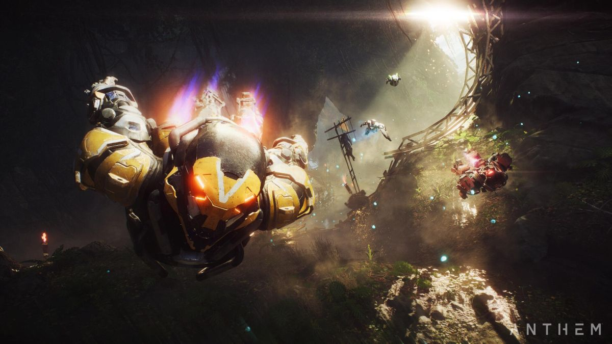 Anthem devs explain why they don't let you fly as high as you want