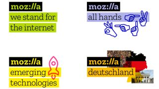 Mozilla logos in use