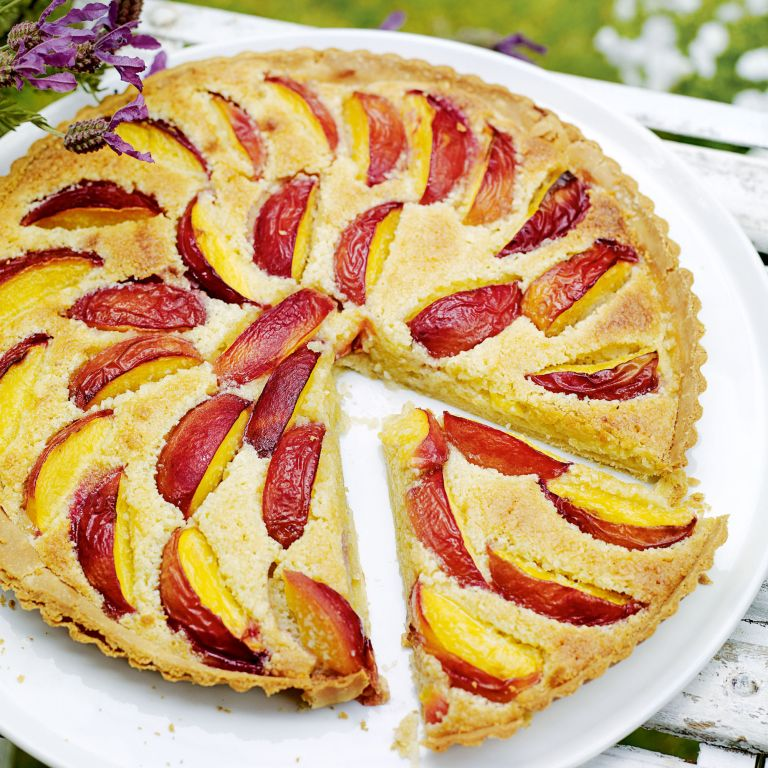 Fresh Nectarine and Almond Tart Recipe-tart recipes-recipe ideas-new recipes-woman and home
