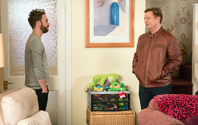 Coronation Street spoilers: Will David tell his dad the truth?
