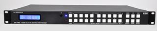 New FSR Matrix Switcher Supports 4K & Routes 8 HD Sources